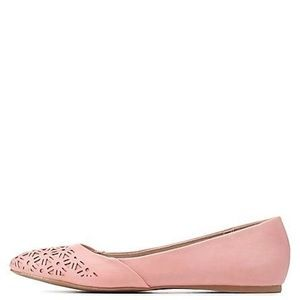 NWT Charlotte Russe Pointed Toes Gracie Flats